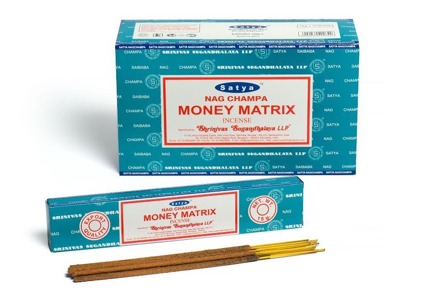Satya Incense 15gm Money Matrix