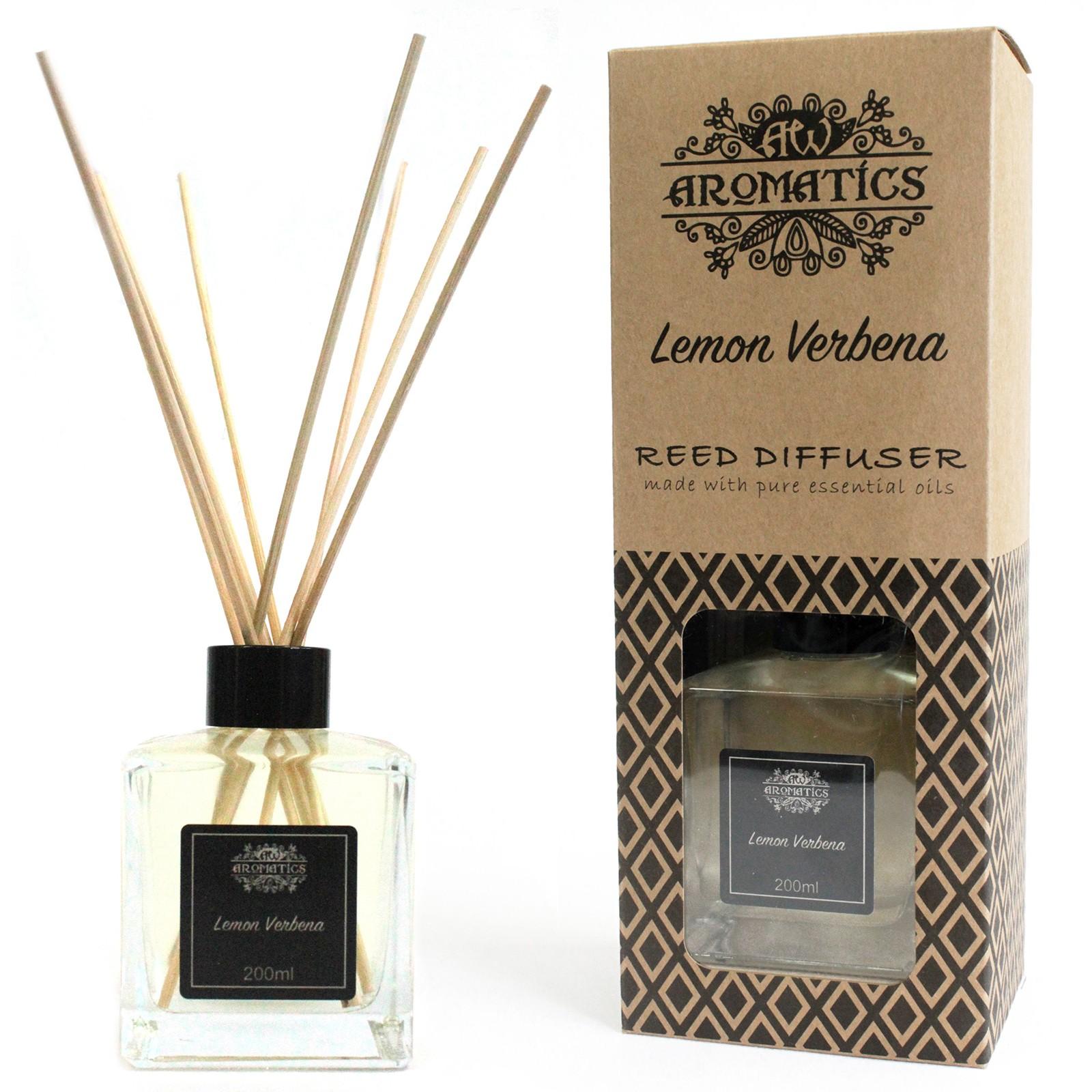 200ml Lemon Verbena Essential Oil Reed Diffuser