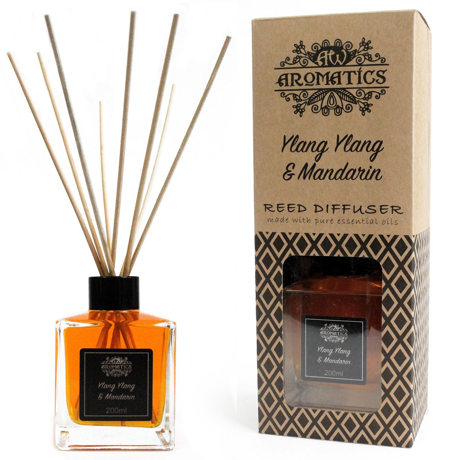 200ml Ylang Ylang and Mandarin Essential Oil Reed Diffuser