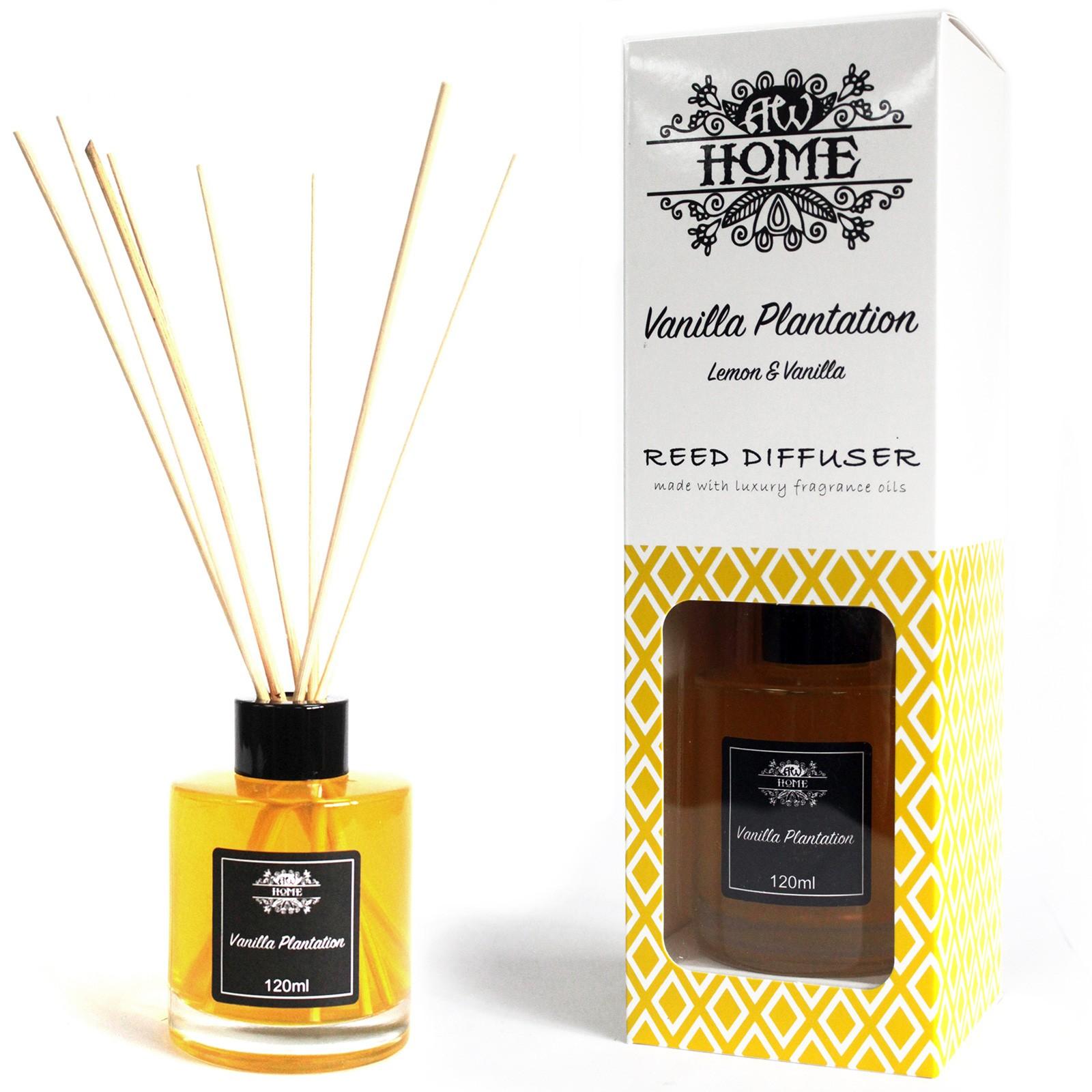 120ml Reed Diffuser Vanilla Plantation