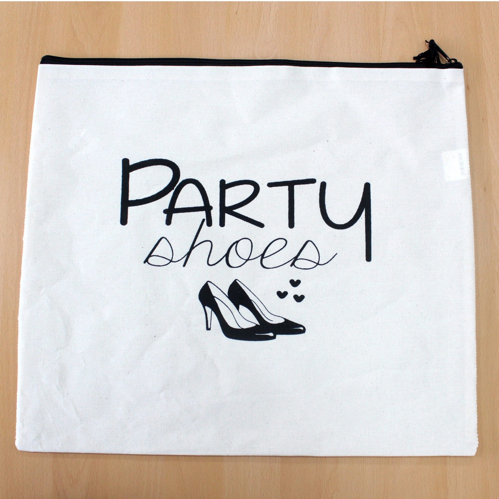 Get Organised Sack Party Shoes