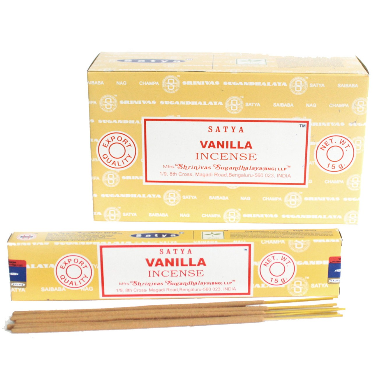 Satya Incense 15gm Vanilla