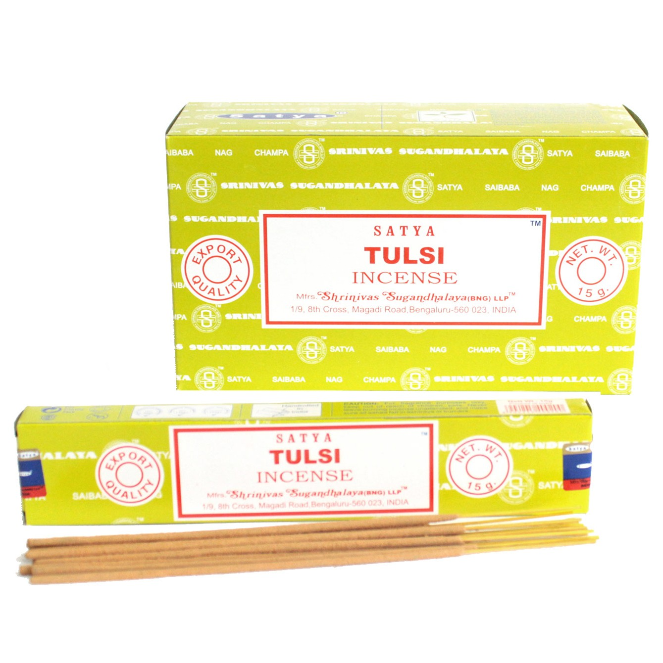 Satya Incense 15gm Tulsi