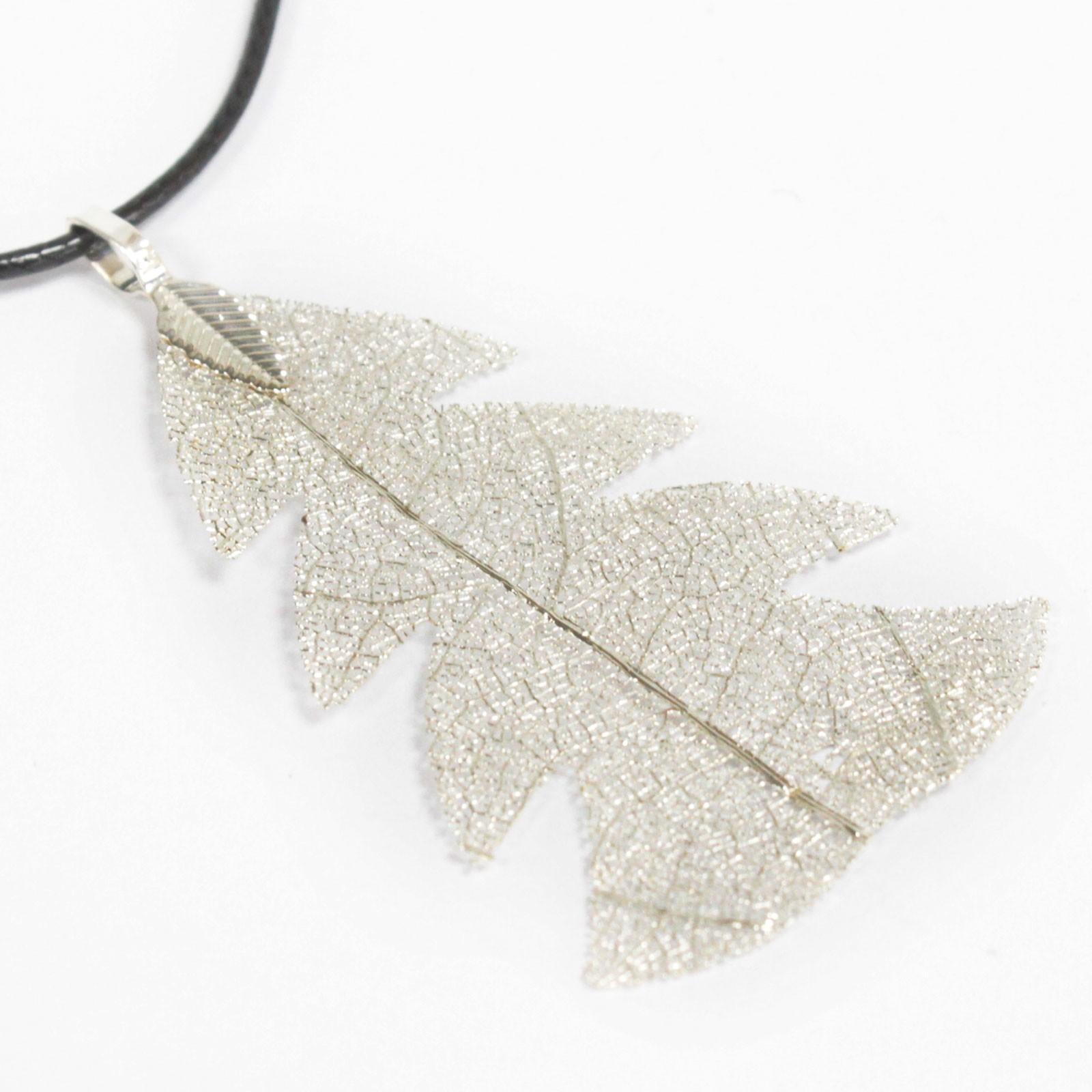 Necklace Festive Fir Silver