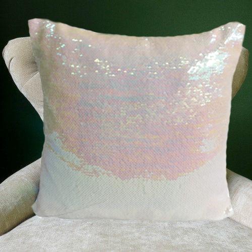 Mermaid Cushions Pink and Snow