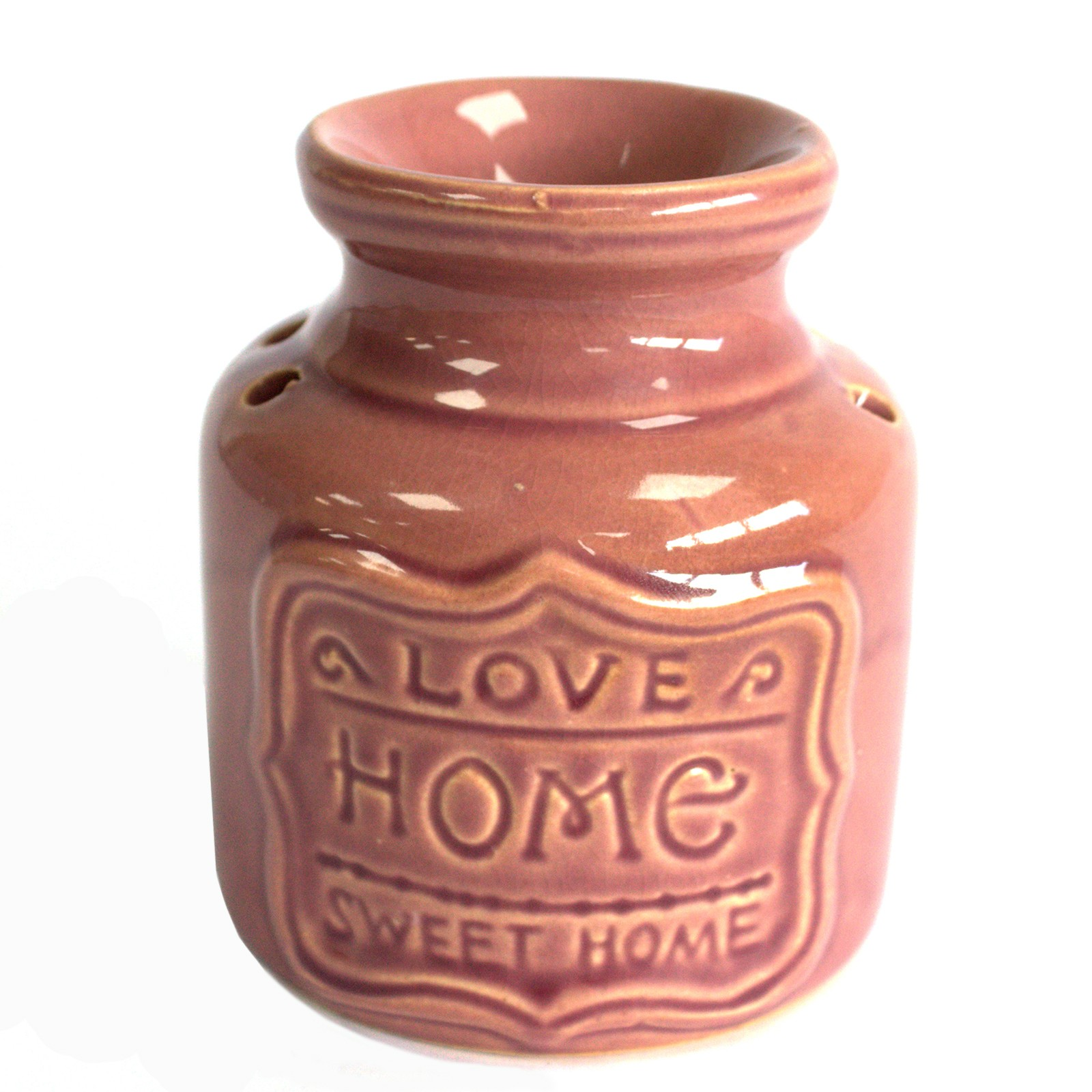 Lrg Home Oil Burner Lavender Love Home Sweet Home