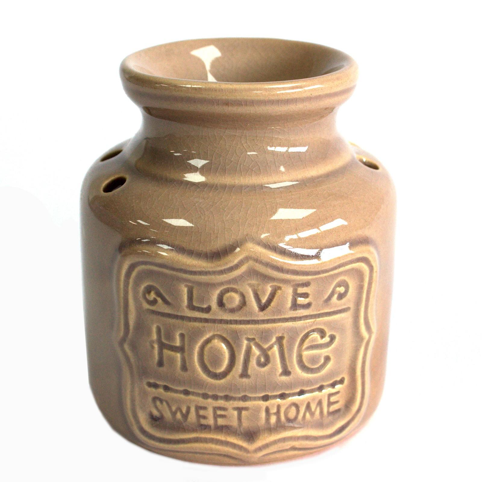 Lrg Home Oil Burner Grey Love Home Sweet Home