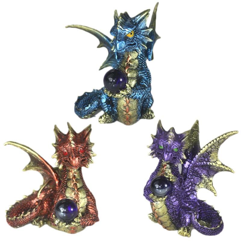 Enchanted Nightmare Dragon Elements Crystal