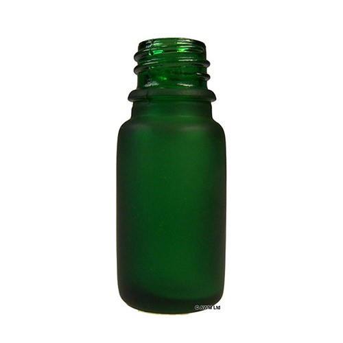 10ml Frosted Green Bottle