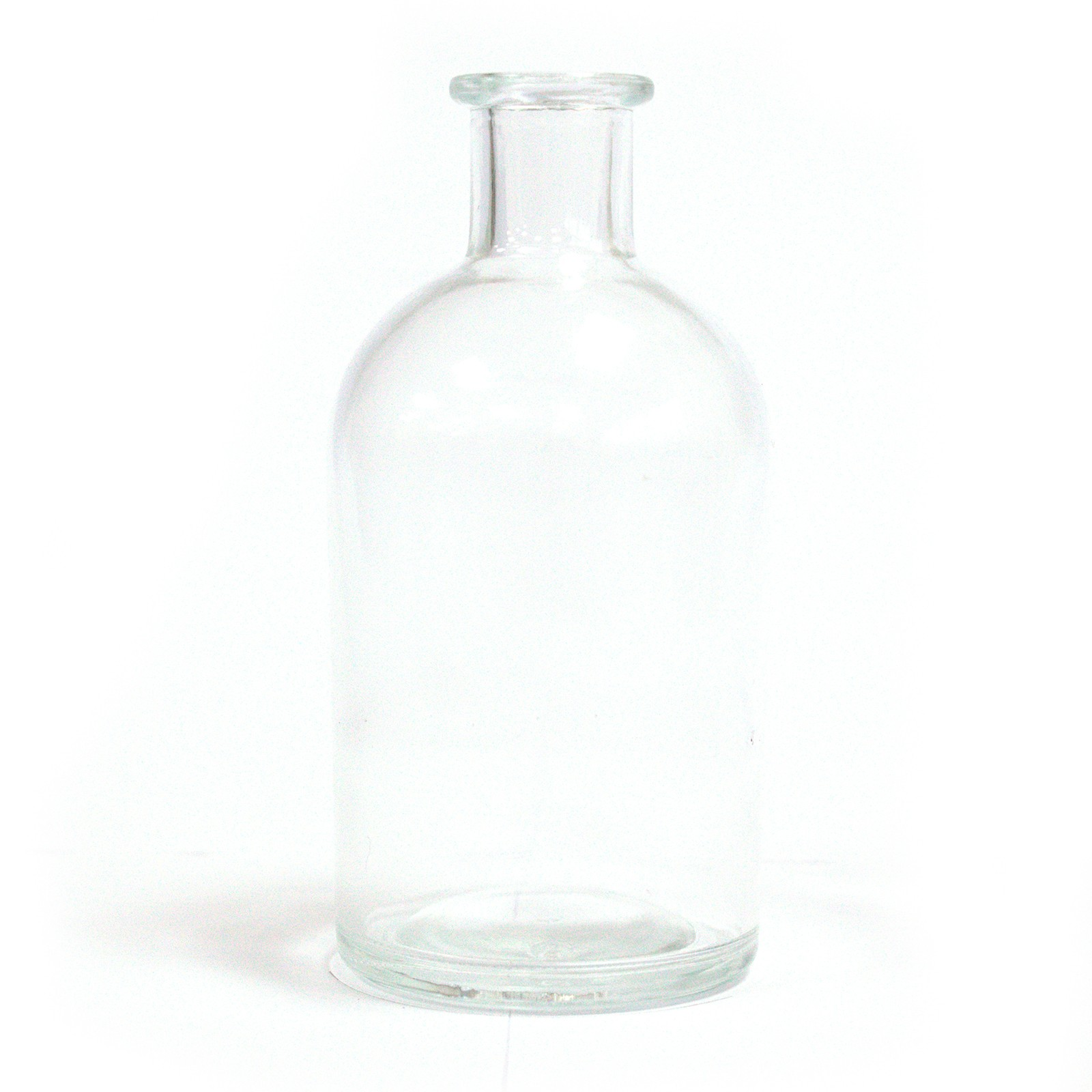 250 ml Round Antique Reed Diffuser Bottle Clear