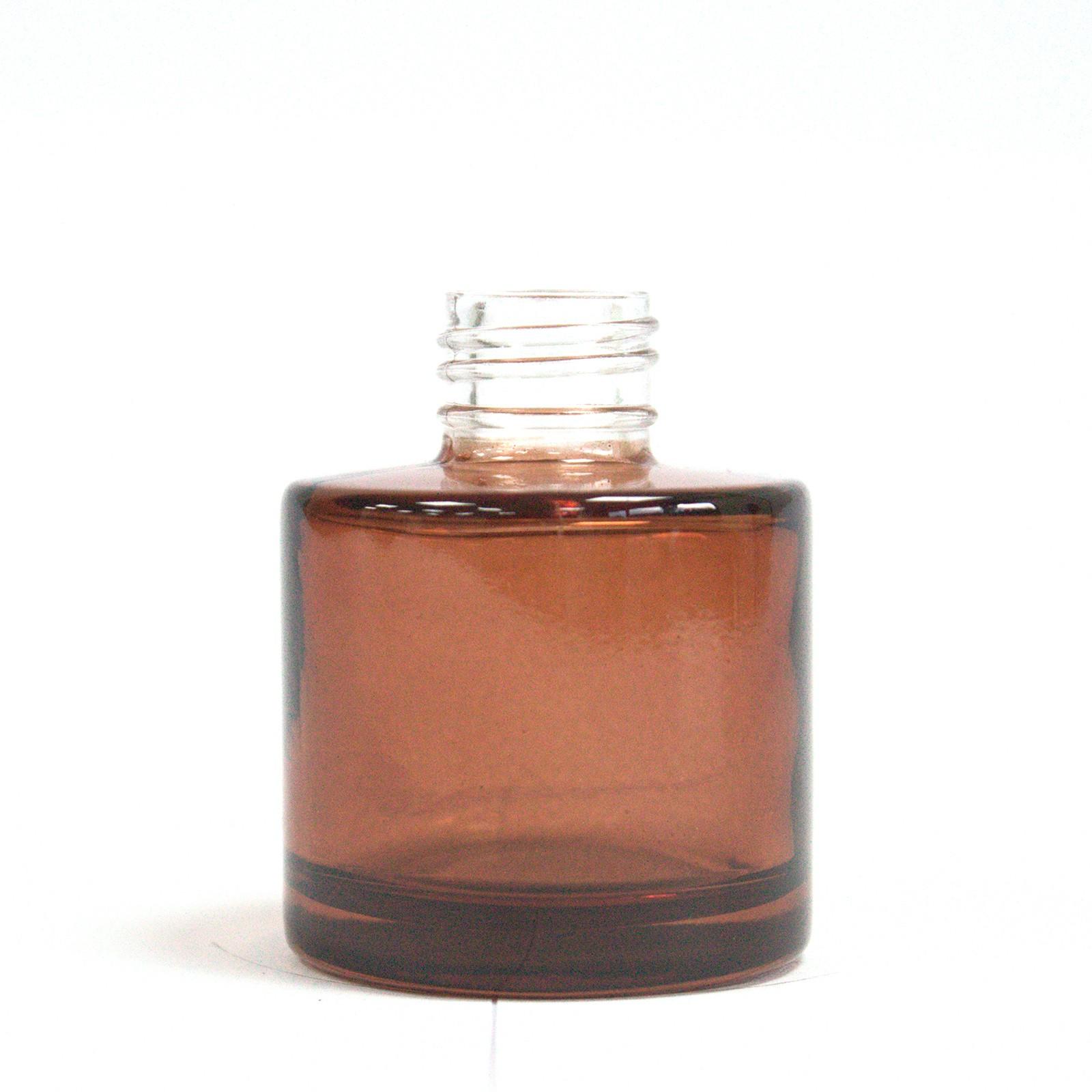 50 ml Round Reed Diffuser Bottlle Amber