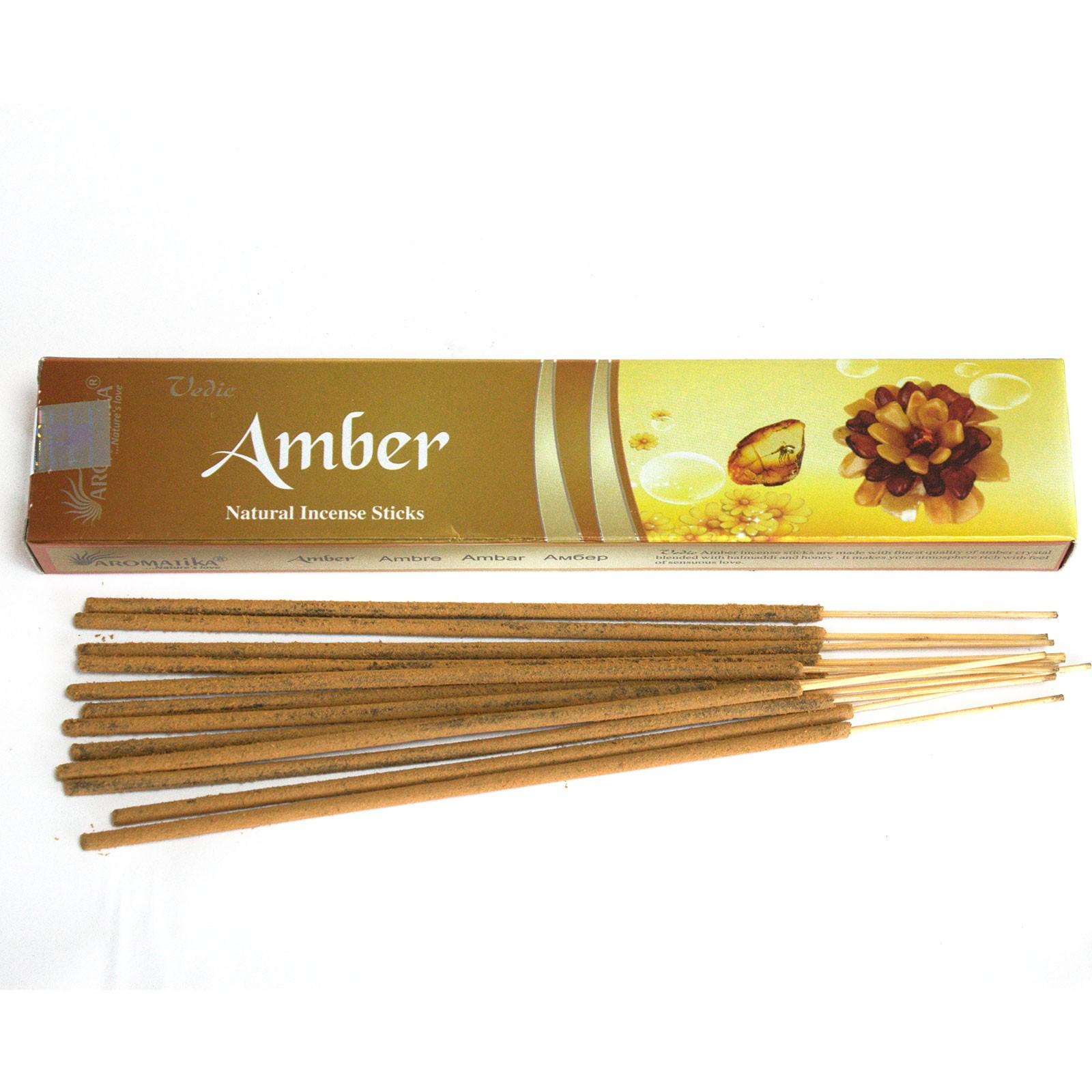 Vedic Incense Sticks Amber