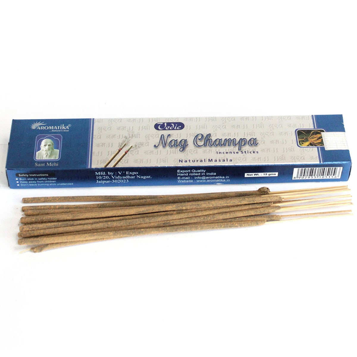 Vedic Incense Sticks Nag Champa