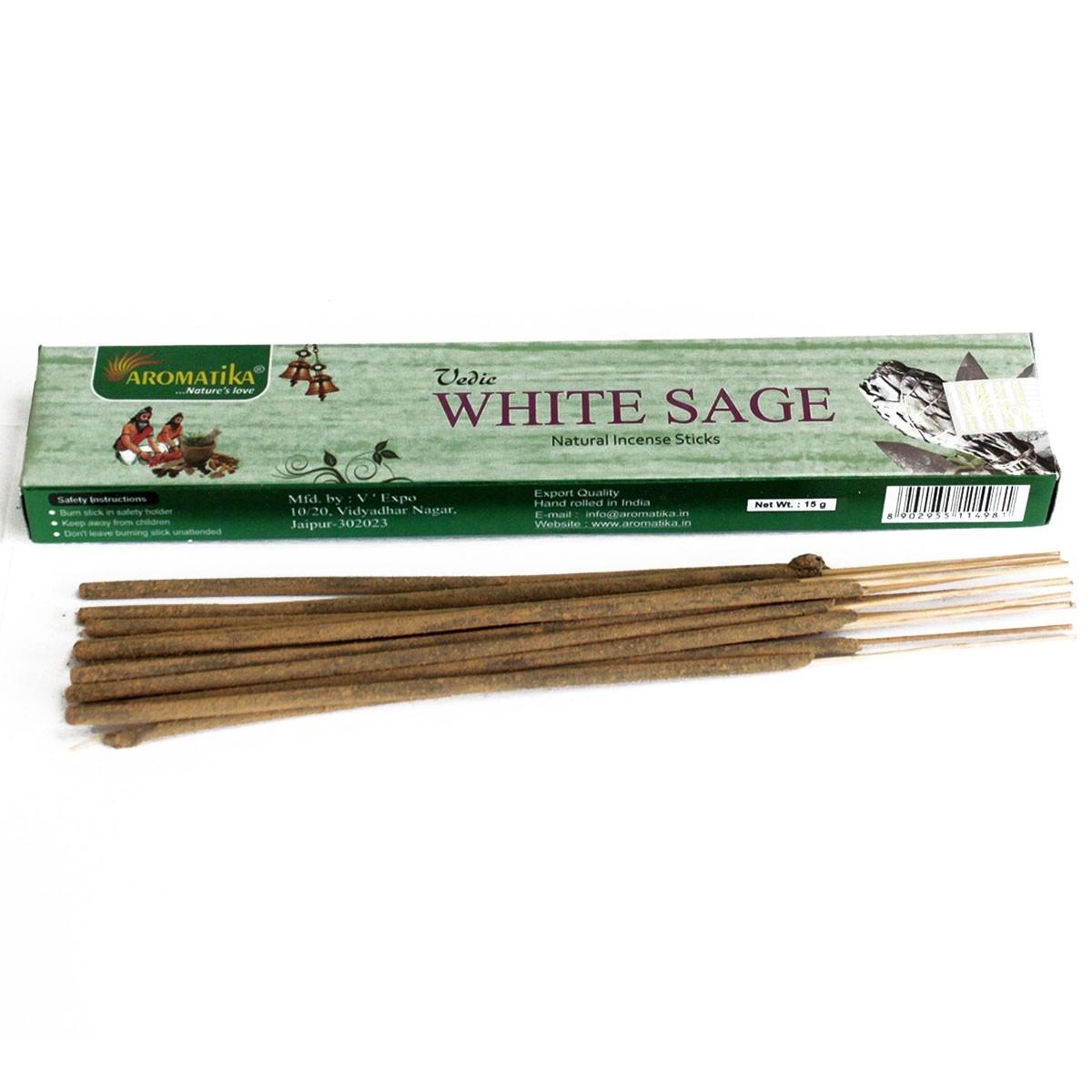 Vedic Incense Sticks White Sage