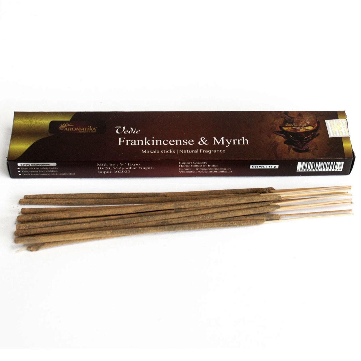 Vedic Incense Sticks Frank and Myrrh