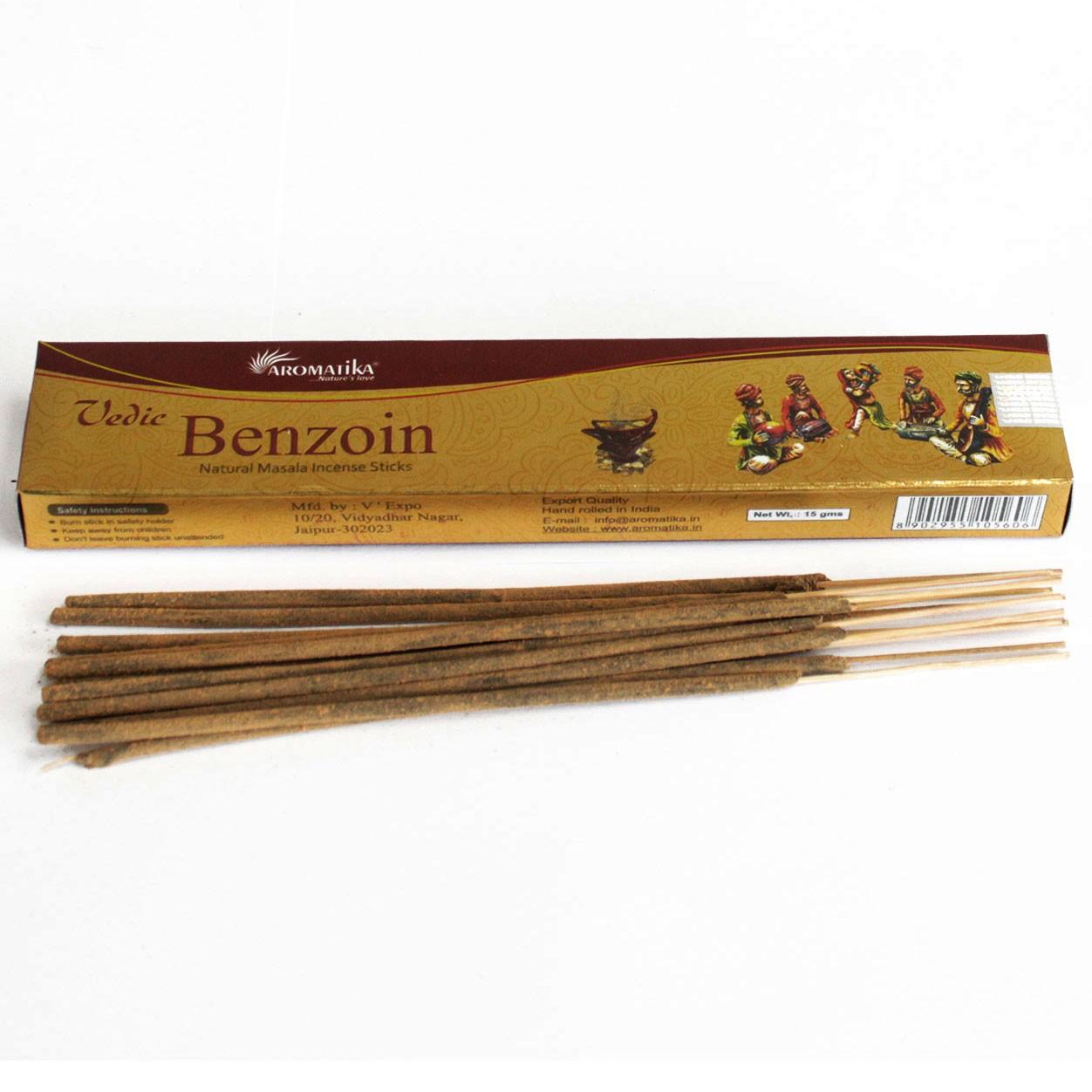 Vedic Incense Sticks Benzoin