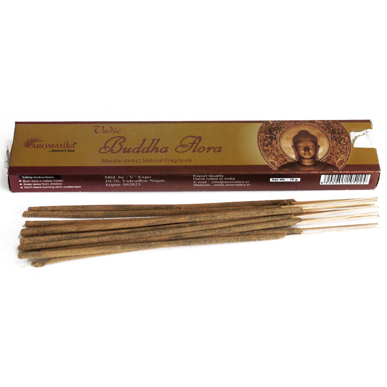 Vedic Incense Sticks Buddha Flora