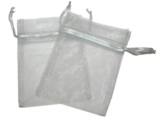 Med Organza Bags Grey