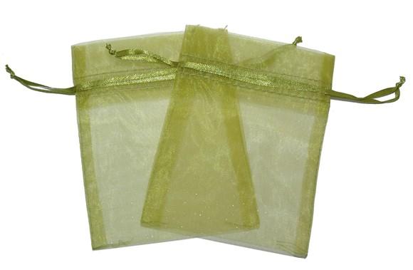 Med Organza Bags Green