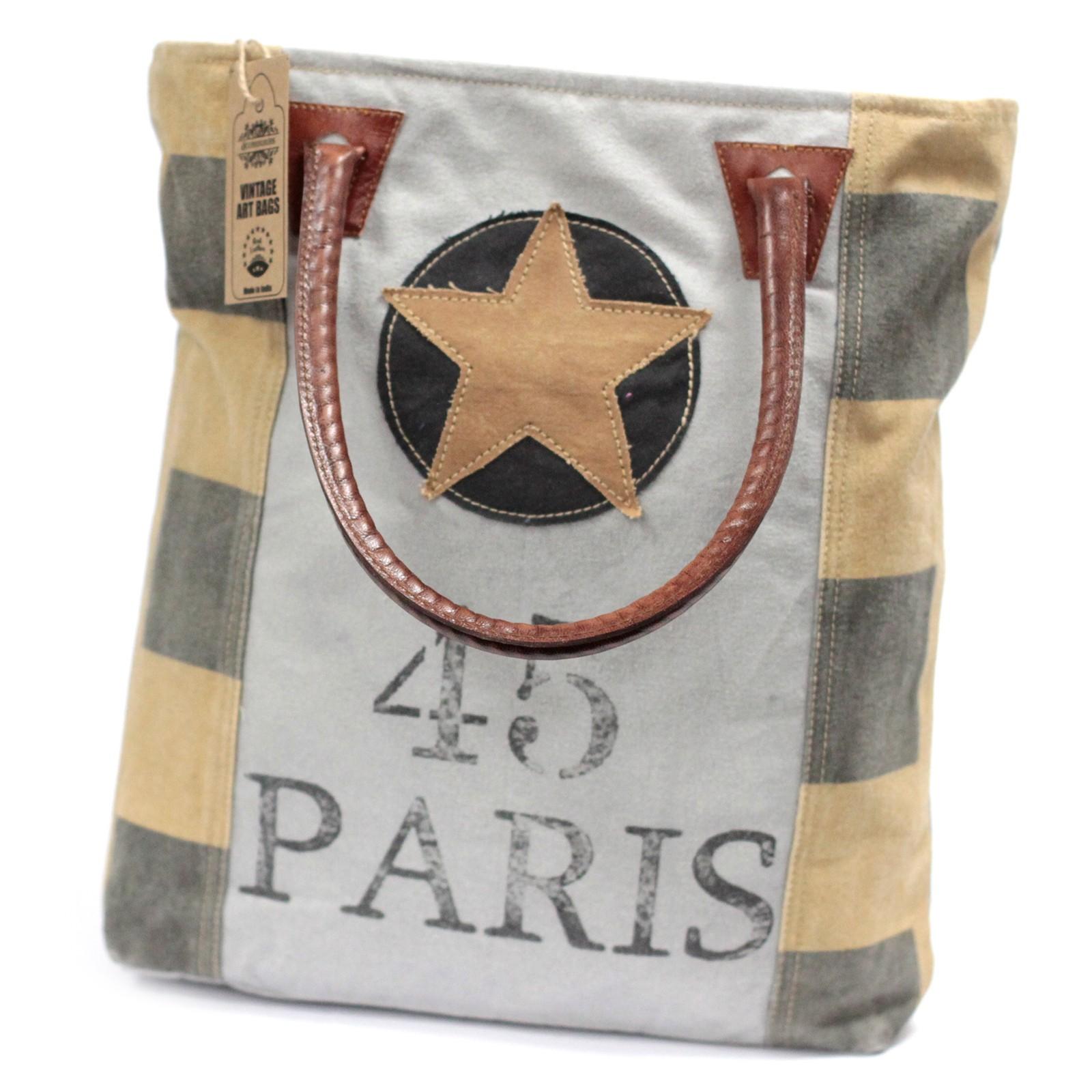 Vintage Bag Paris Star