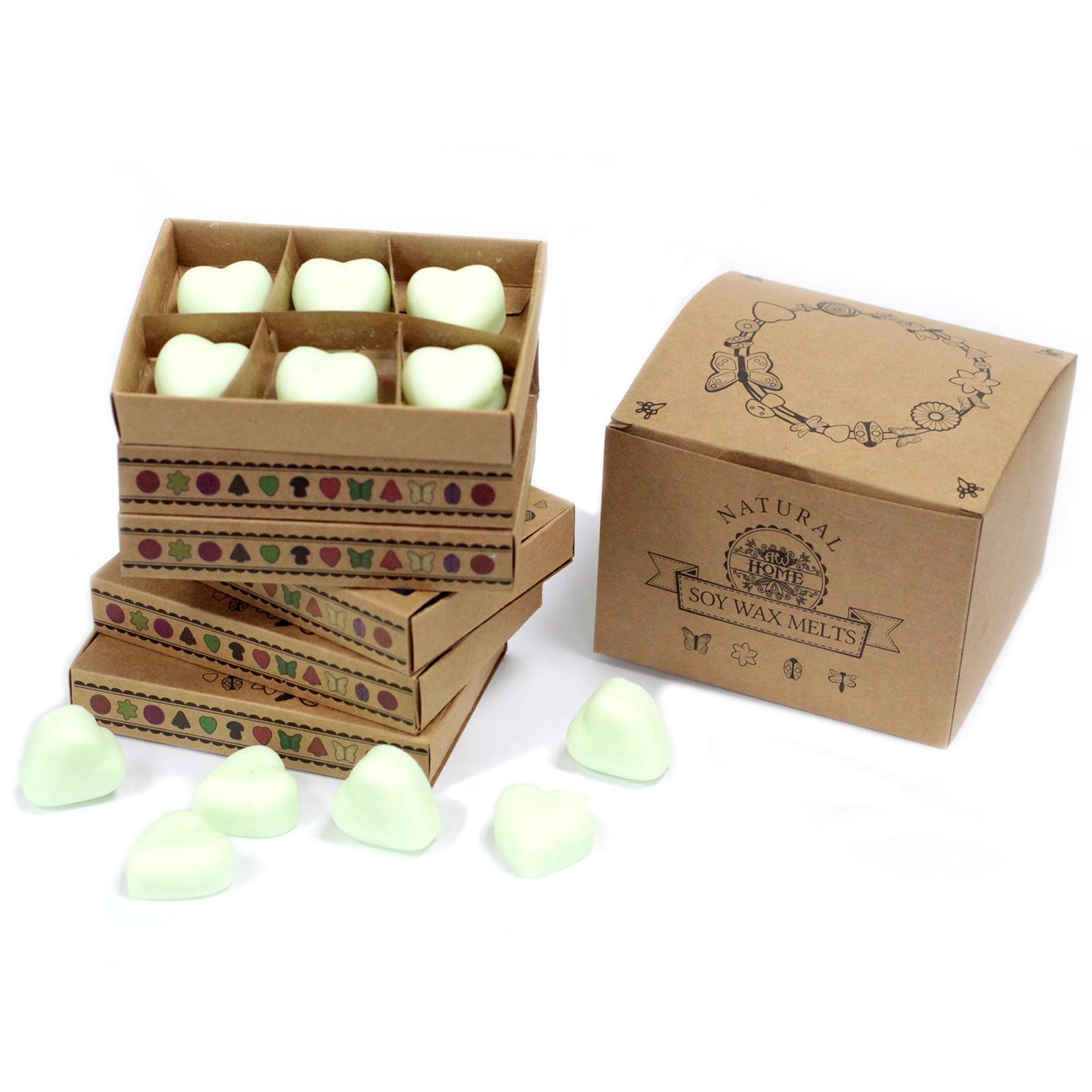 Box of 6 Wax Melts Brandy Butter