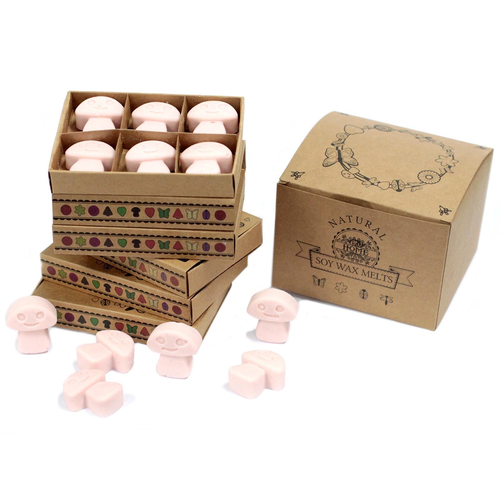 Box of 6 Wax Melts Dark Sandalwood