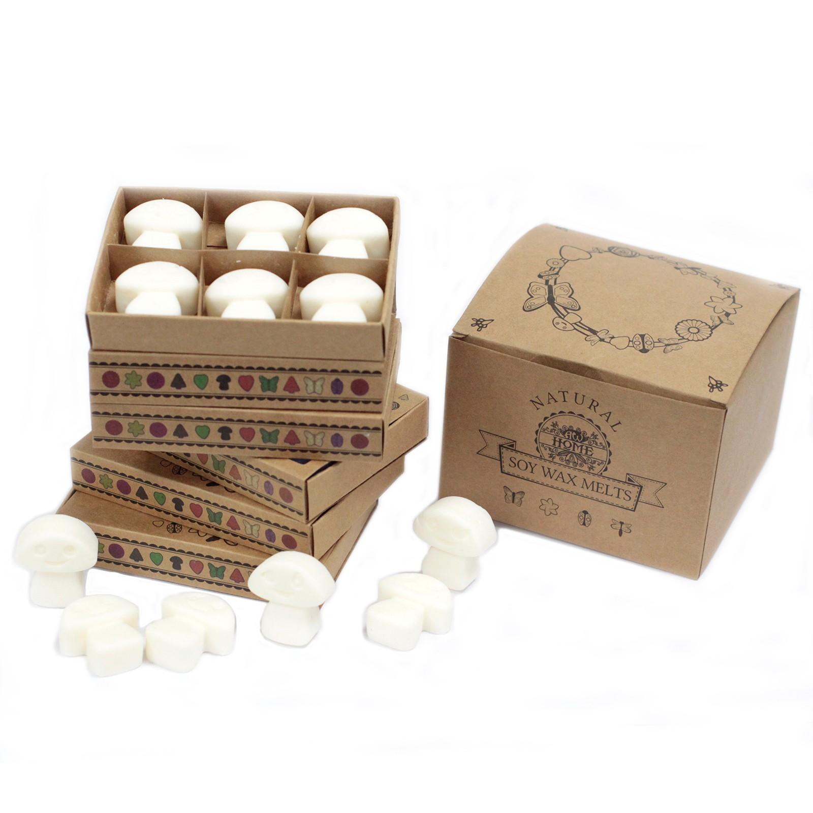 Box of 6 Wax Melts White Musk