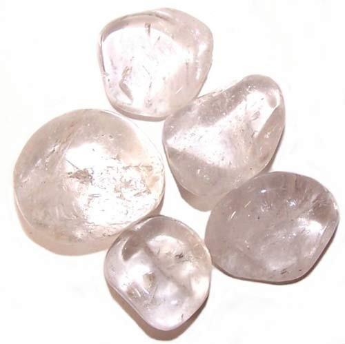 Tumble Stones Ice Quartz