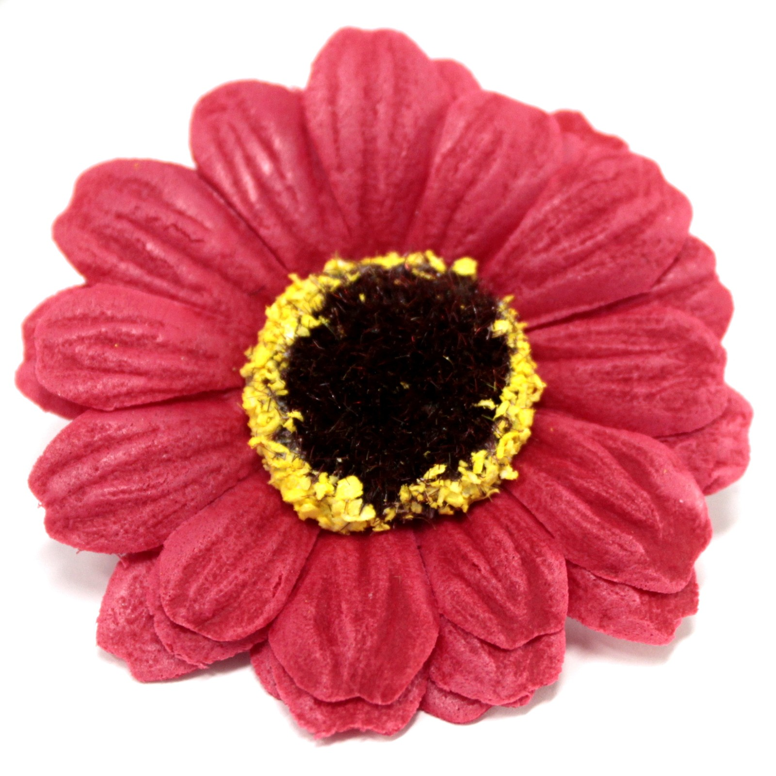 Craft Soap Flowers Sml Sunflower Red