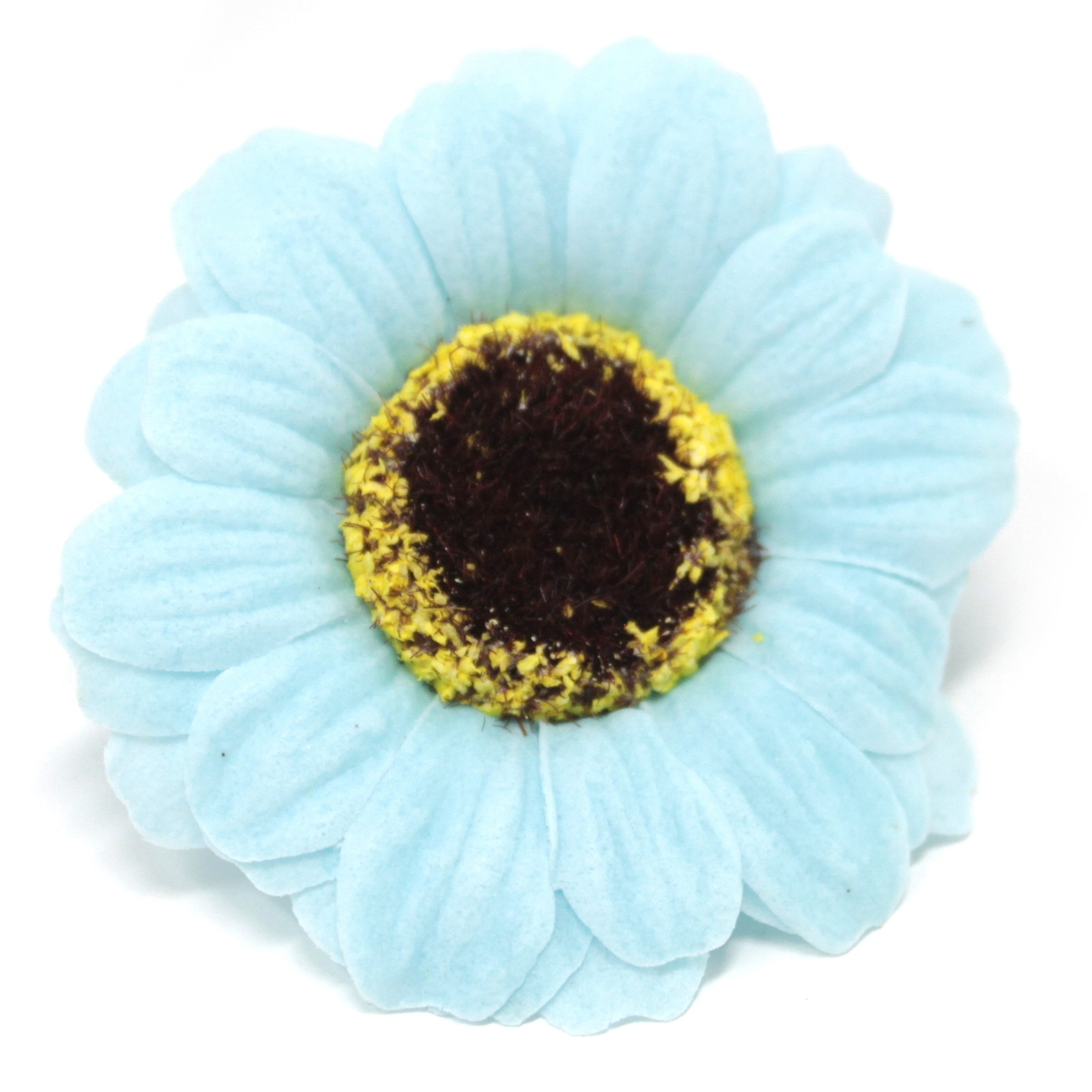 Craft Soap Flowers Sml Sunflower Blue