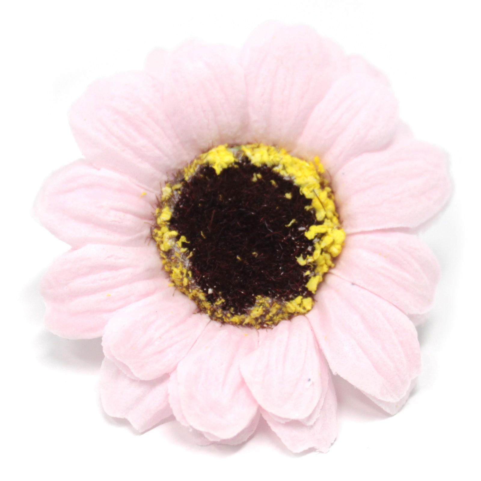 Craft Soap Flowers Sml Sunflower Pink