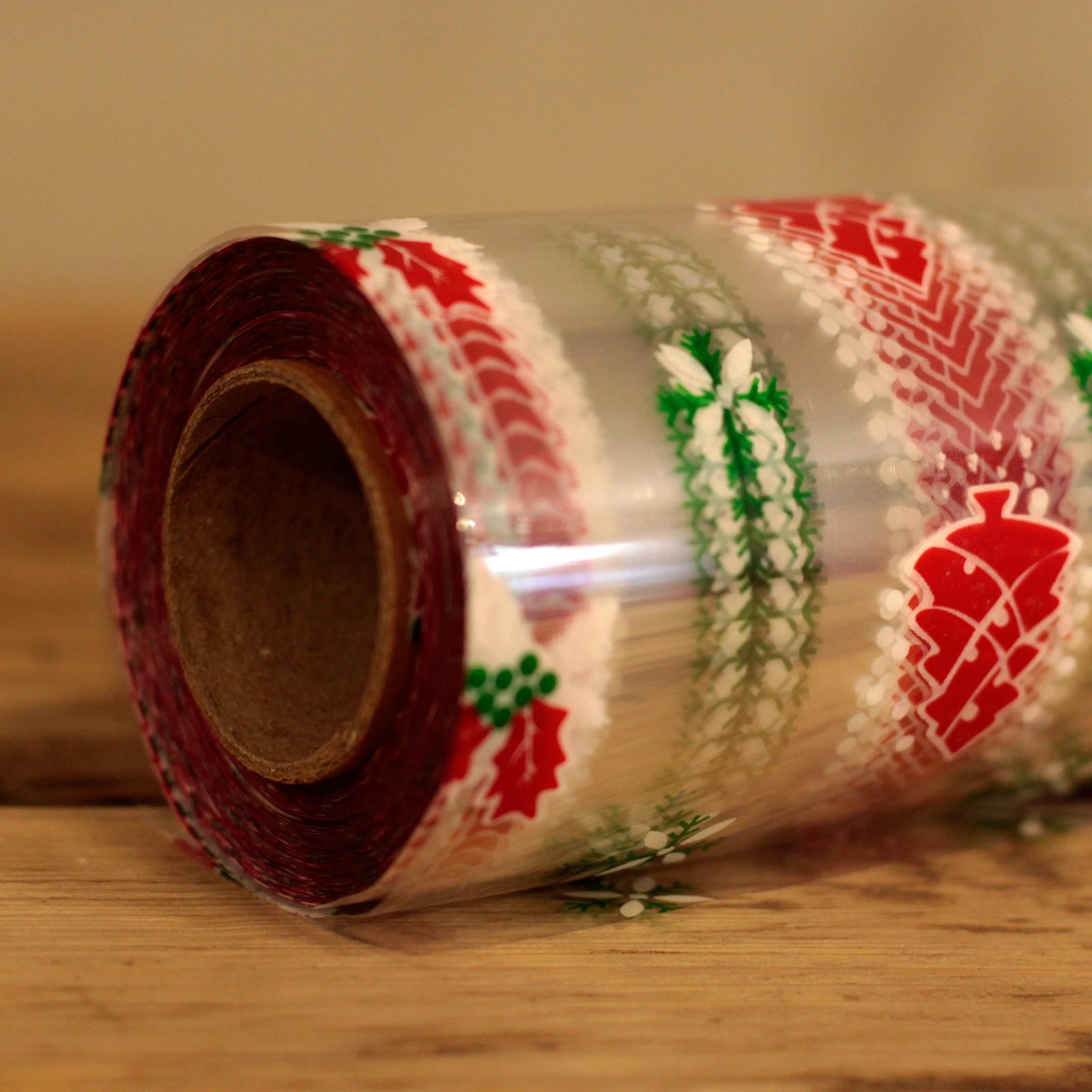 Christmas Wrap Film Wrap 80cm x 100m