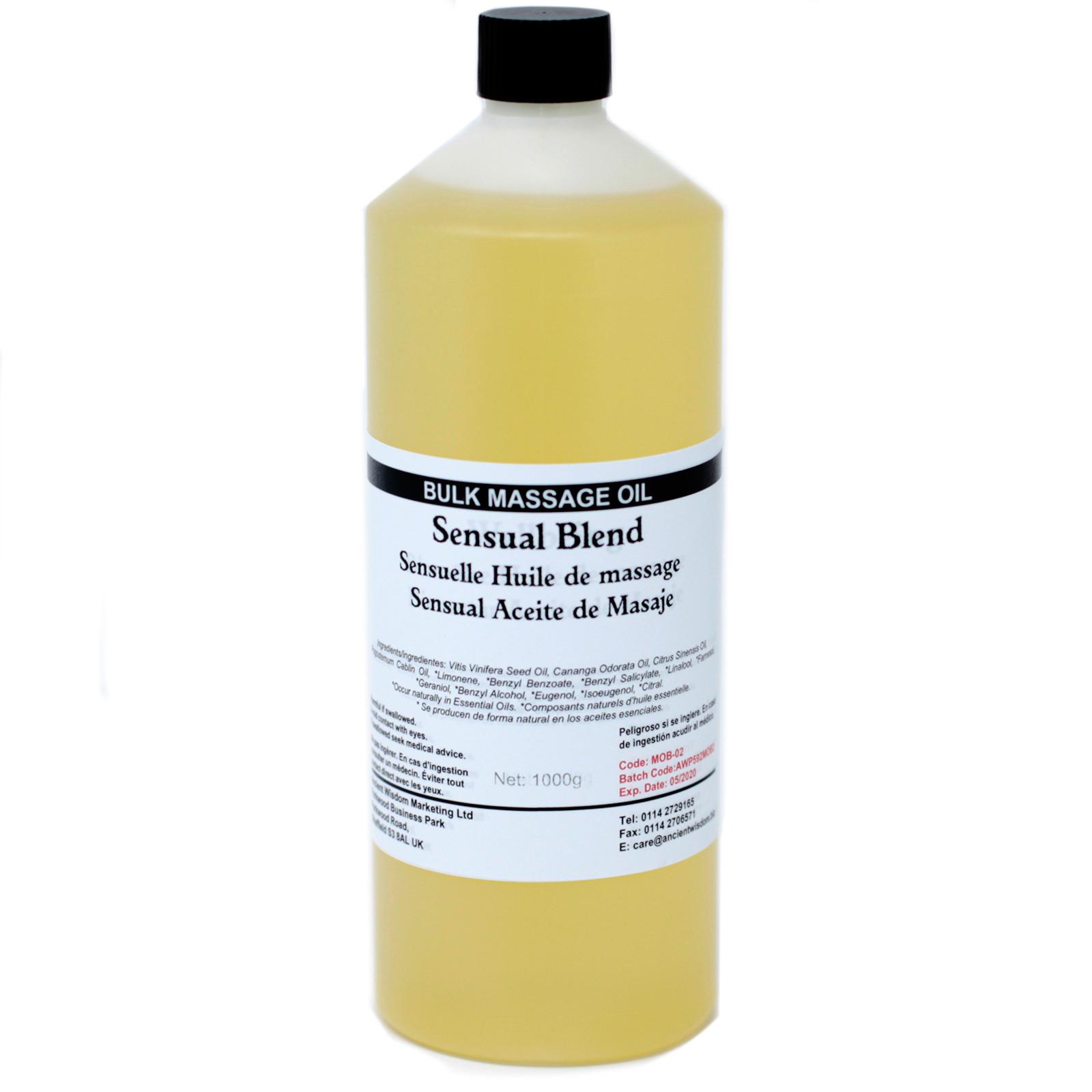 Sensual 1Kg Massage Oil