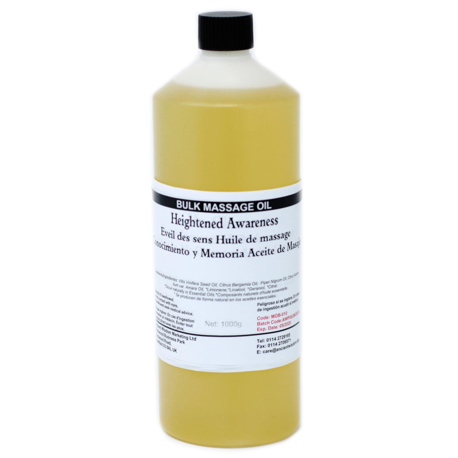 Heighten Awareness 1Kg Massage Oil