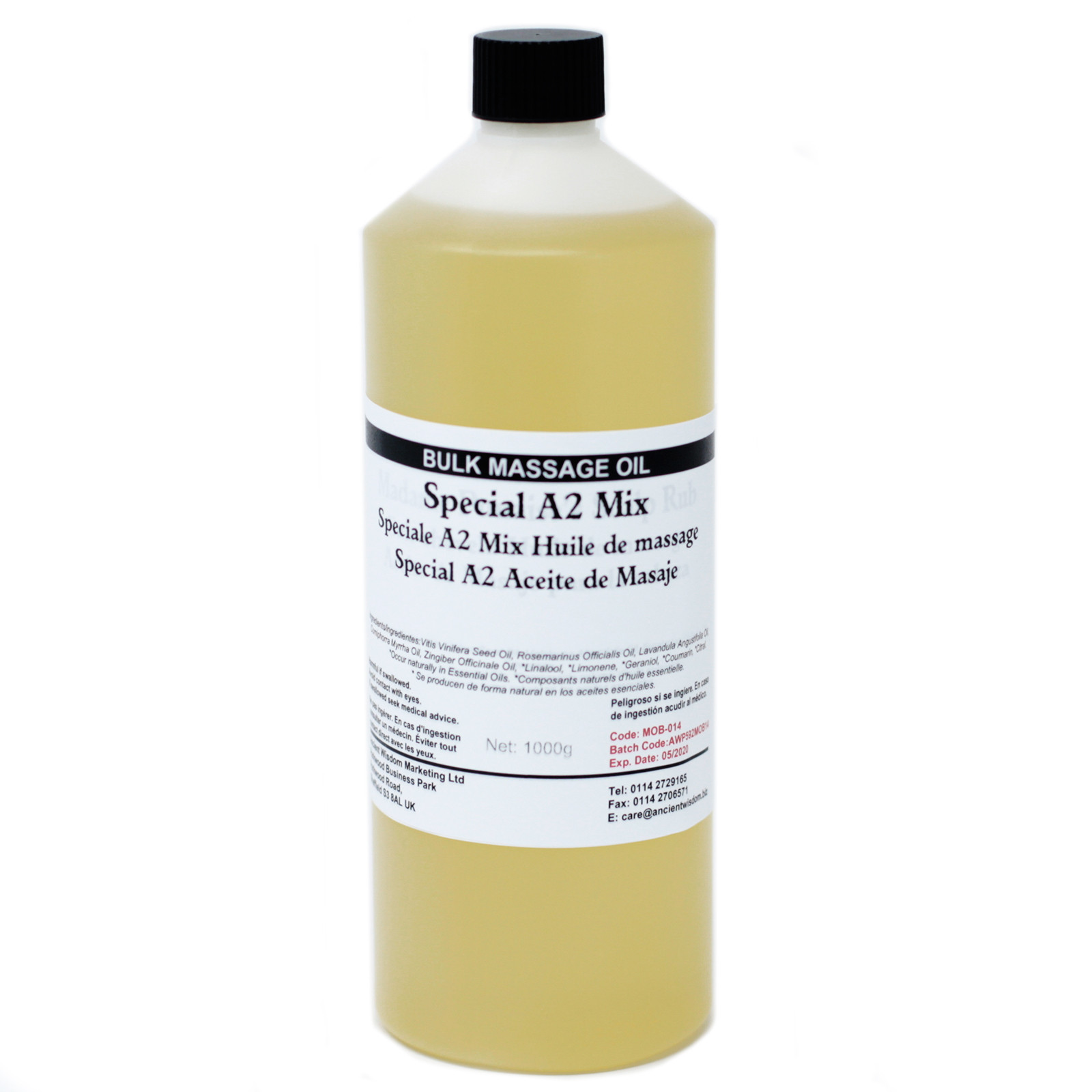 Special A2 Mix 1Kg Massage Oil