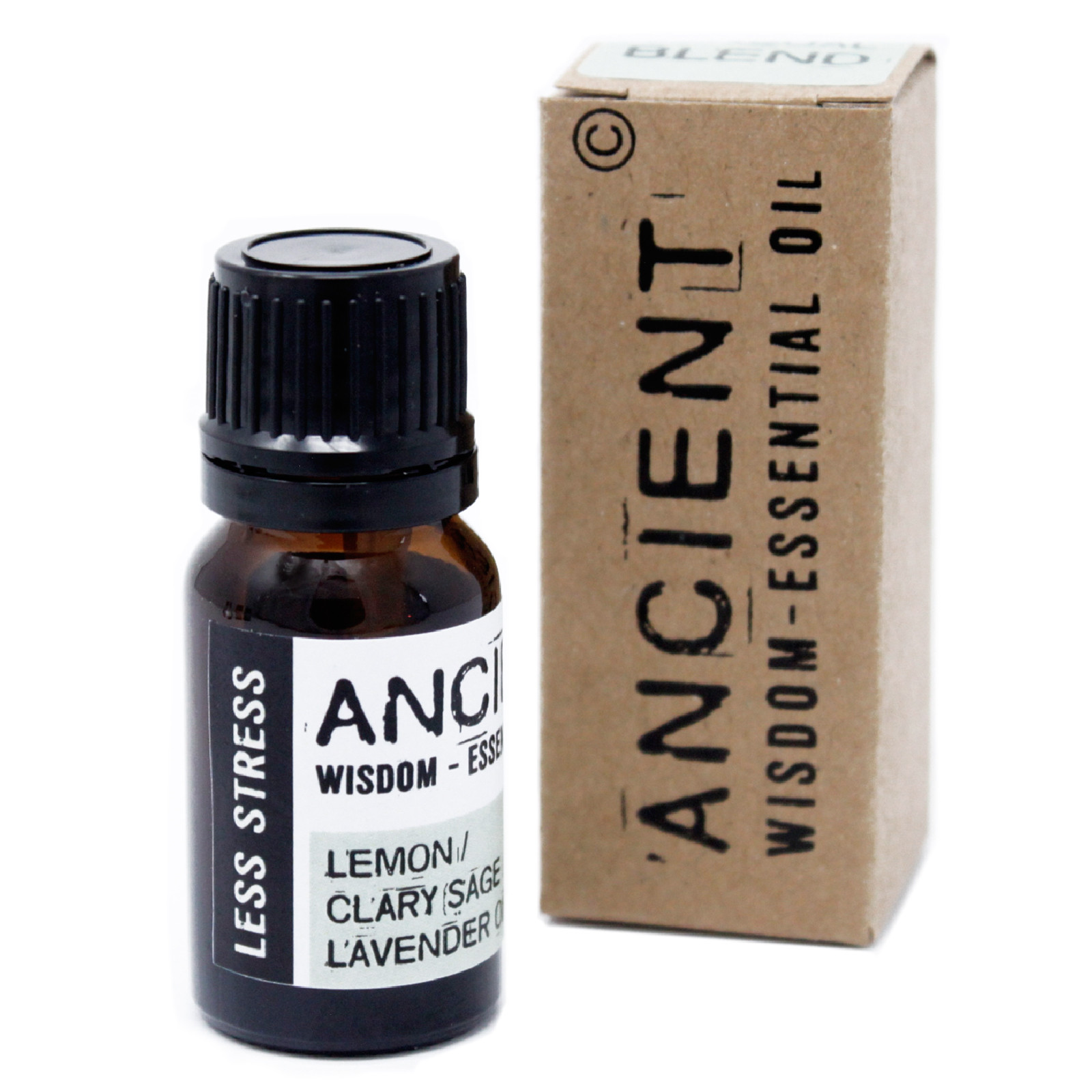 Less Stress Essential Oil Blend Boxed 10ml