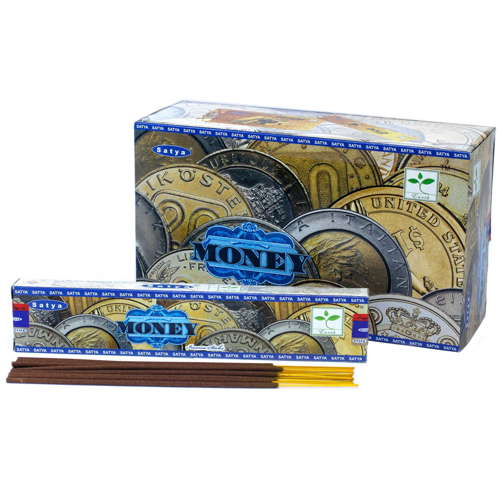 Satya Incense 15gm Money