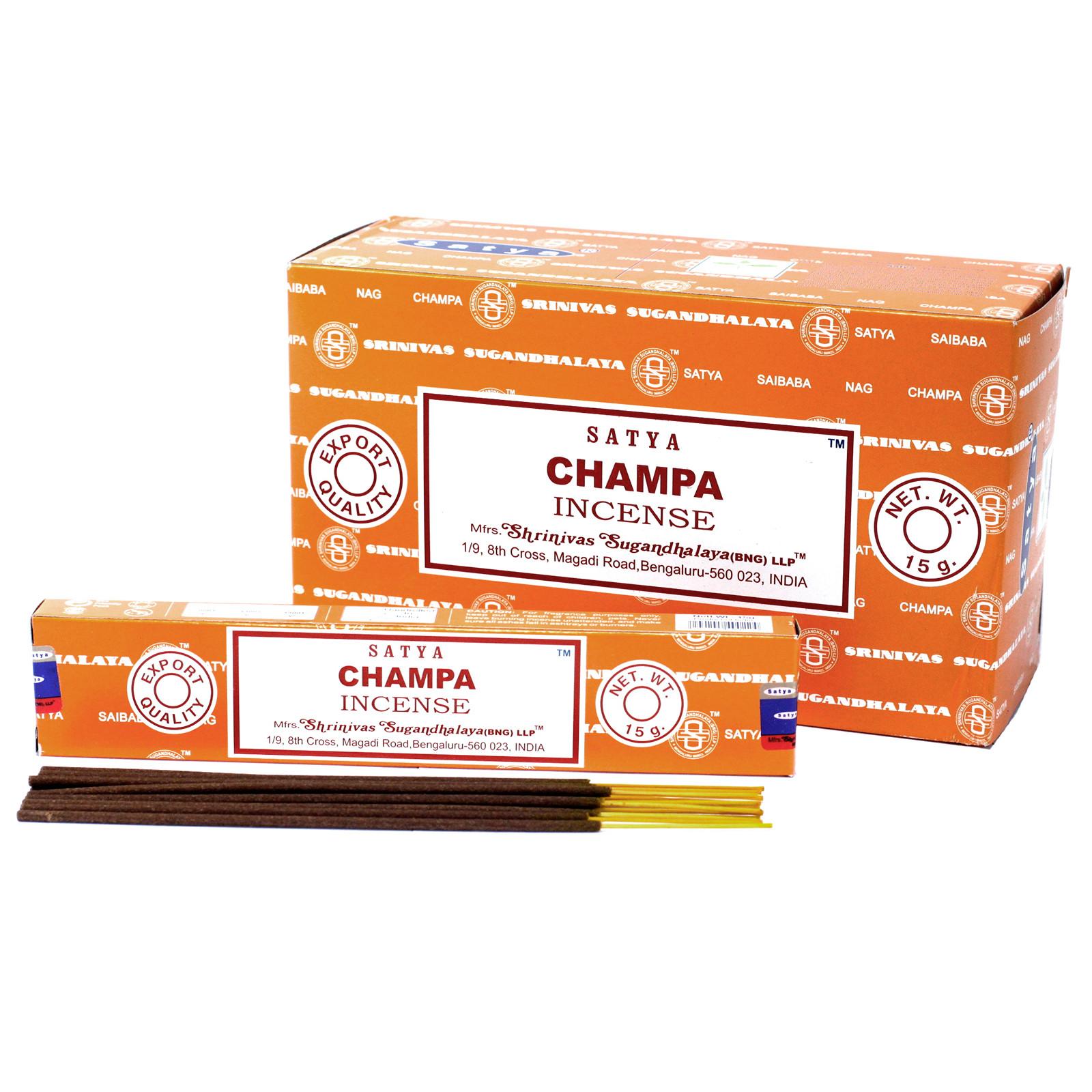 Satya Incense 15gm Champa
