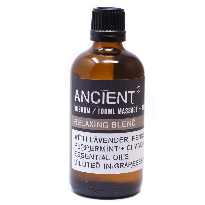 Relaxing Massage Oil 100ml