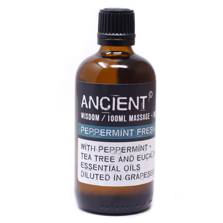 Peppermint Fresh Massage Oil 100ml
