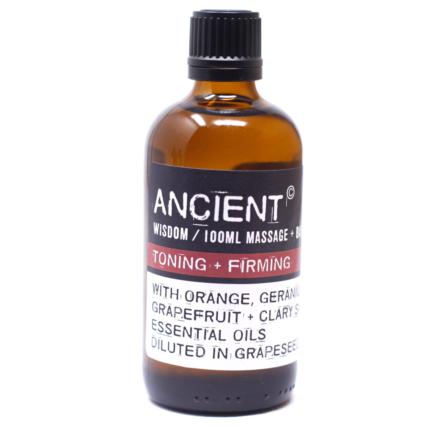 Toning and Firming Massage Oil 100ml