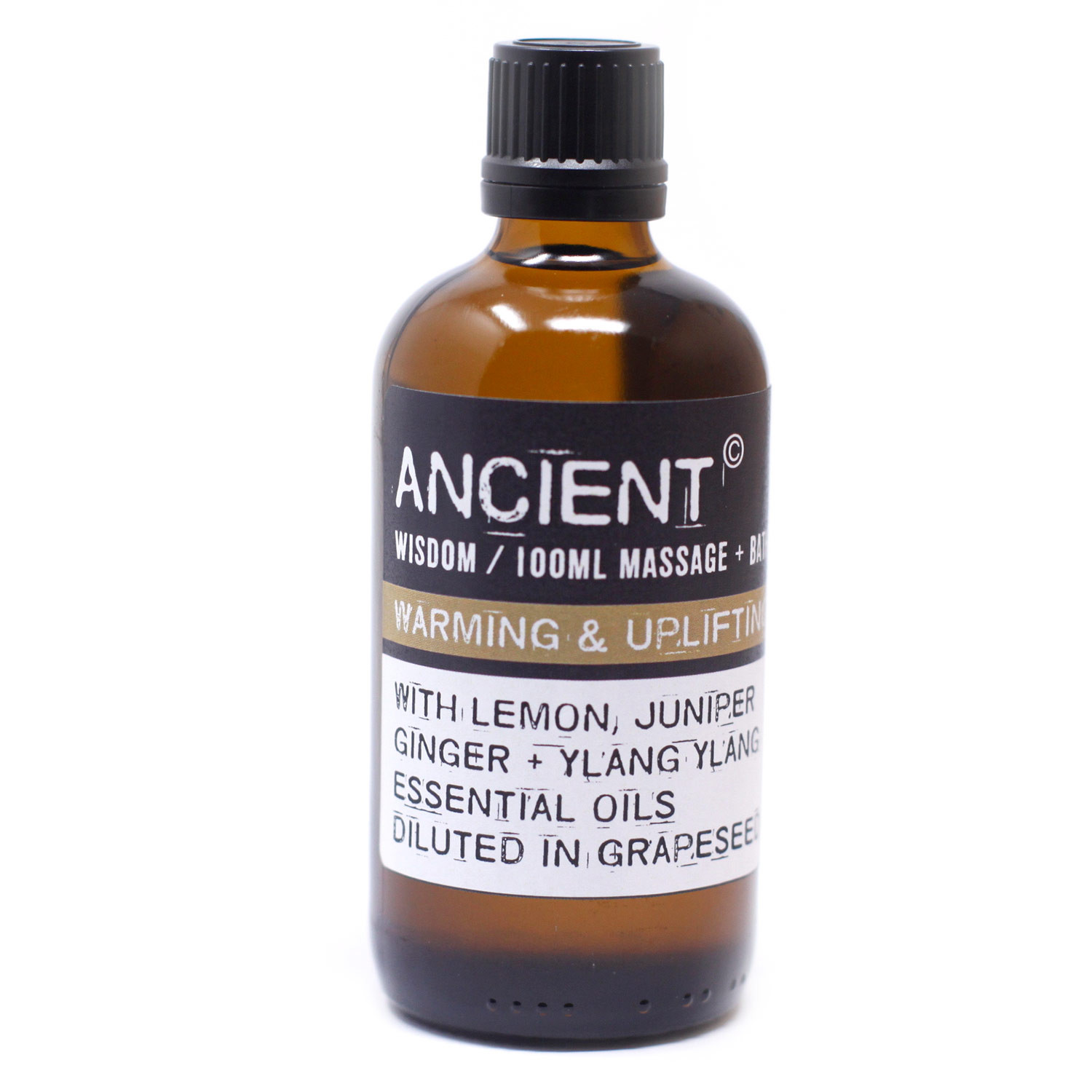 Warm and Uplifting Massage Oil 100ml
