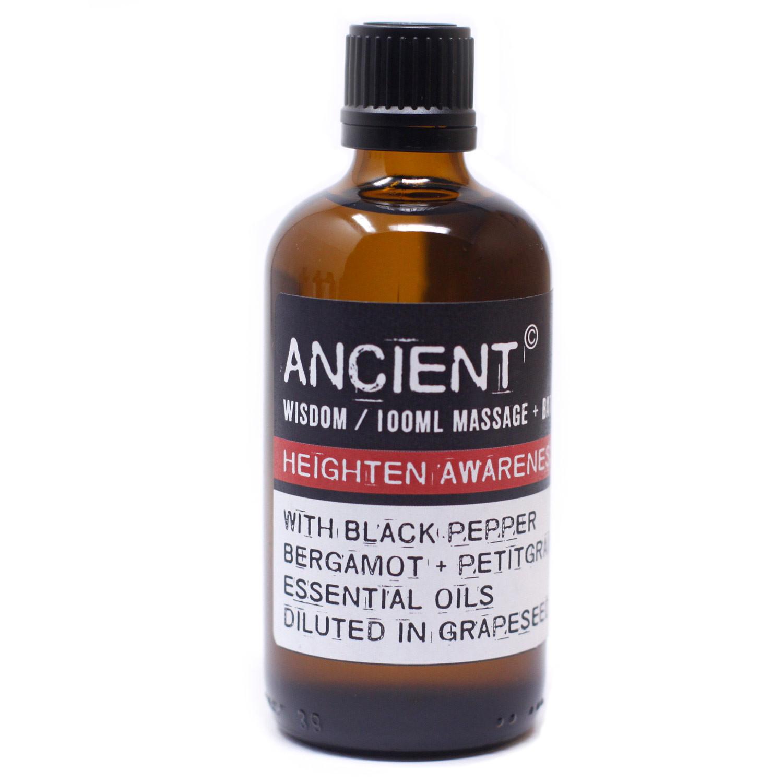 Heighten Awareness Massage Oil 100ml