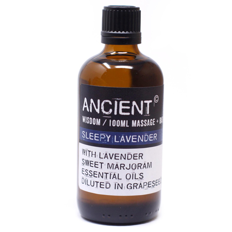 Sleepy Lavender Massage Oil 100ml