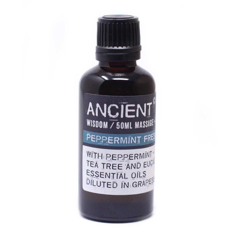 Peppermint Fresh Massage Oil 50ml
