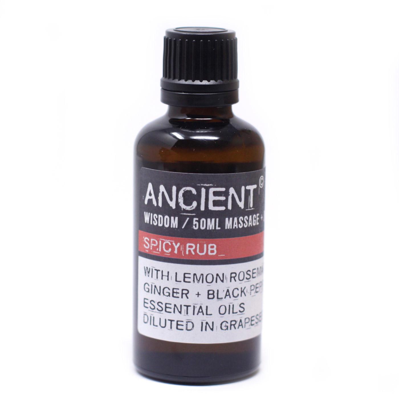 Spicy Rub Massage Oil 50ml
