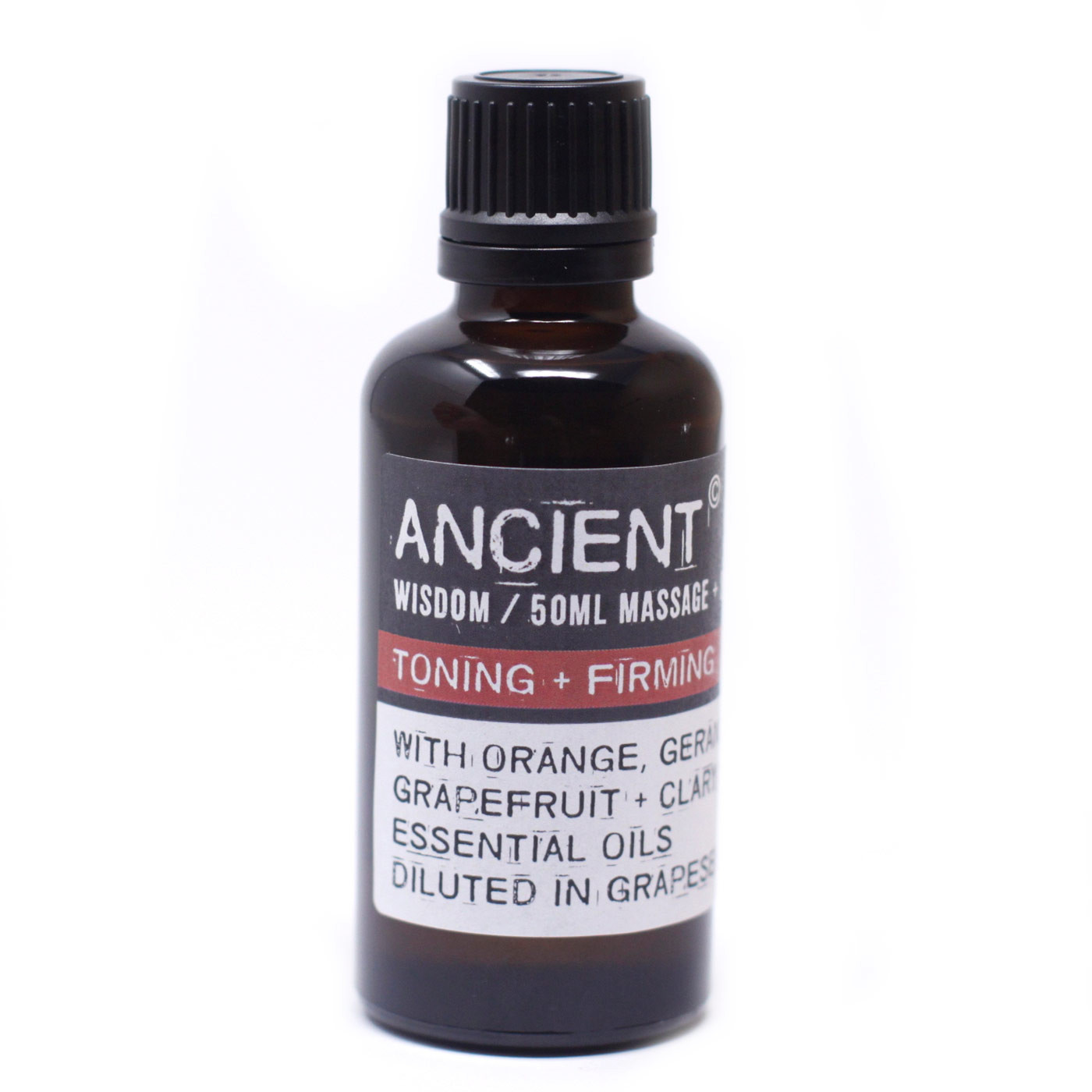 Toning and Firming Massage Oil 50ml