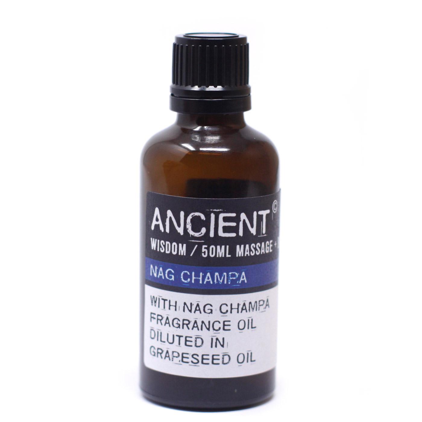 Nag Champa Massage Oil 50ml