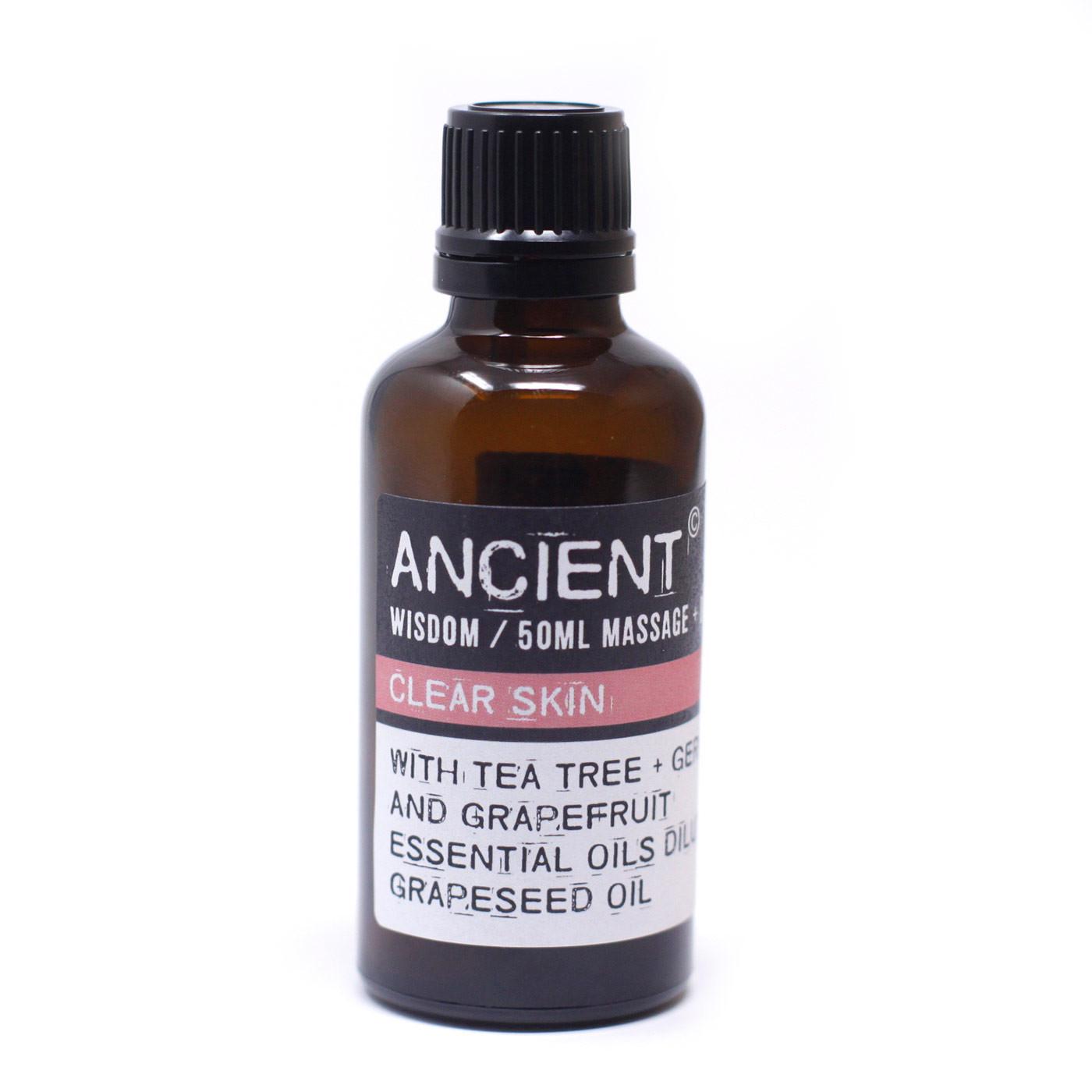 Clear Skin Massage Oil 50ml