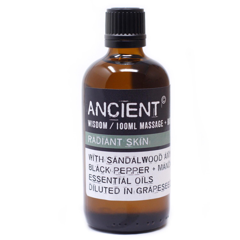 Radiant Skin Massage Oil 100ml